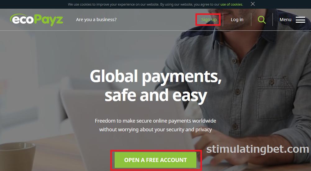 Ecopayz(エコペイズ) 登録方法