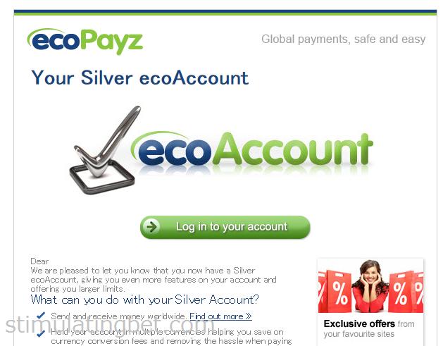 Ecopayz(エコペイズ) 口座アップグレード方法