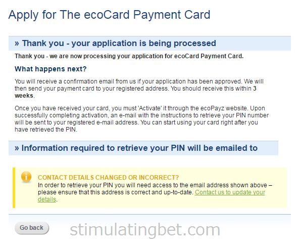 Ecopayz(エコペイズ) EcoCardの作成方法